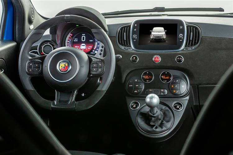 Abarth 595 S4 1.4 T-Jet 165 Yamaha Monster 3dr image 13
