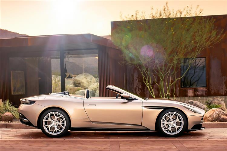 Aston Martin DB11 Volante - The return of the ultimate sports convertible GT image 1