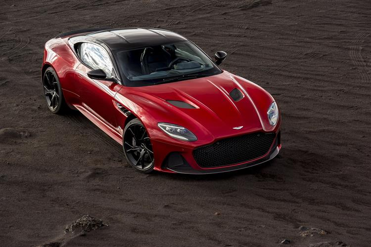 Aston Martin DBS V12 Superleggera Volante Touchtronic 5.2 Automatic 2 door Convertible (19MY) at Aston Martin Brentwood thumbnail image