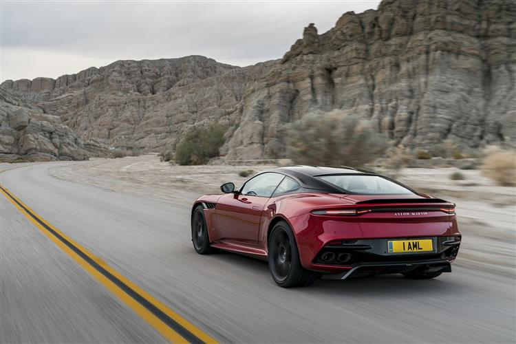 Aston Martin DBS V12 Superleggera Touchtronic image 5