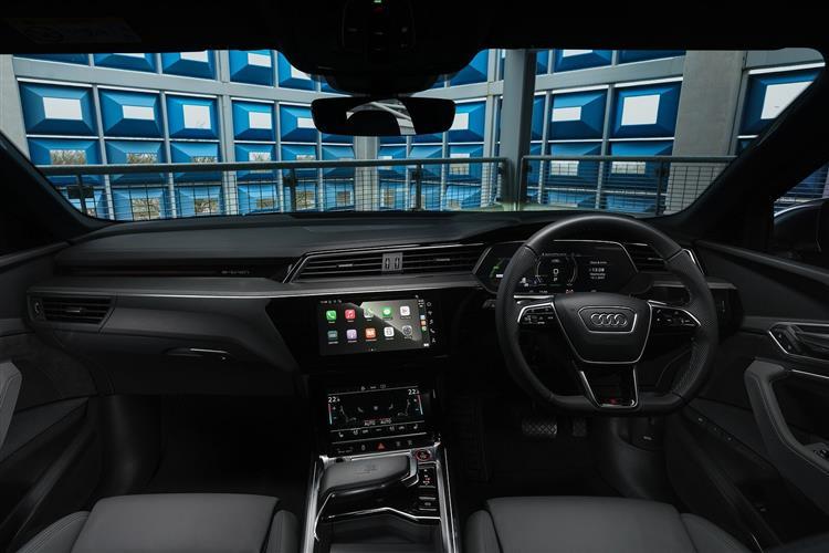 AUDI E-TRON SPORTBACK 370kW S Quattro 95kWh 5dr Auto [22kWCh]
