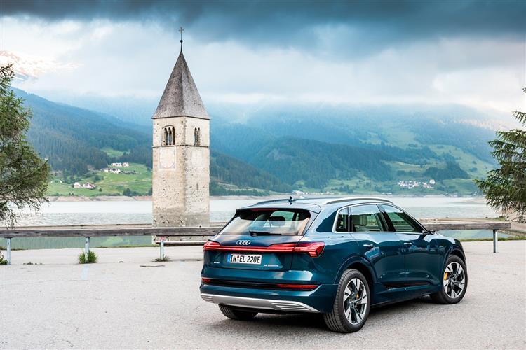 Audi e-tron 300kW 55 Quattro 95kWh Black Ed 5dr Auto [C+S] Electric Estate