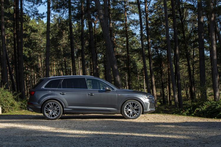 Audi Q7 55 TFSI Quattro S Line 5dr Tiptronic Petrol Estate