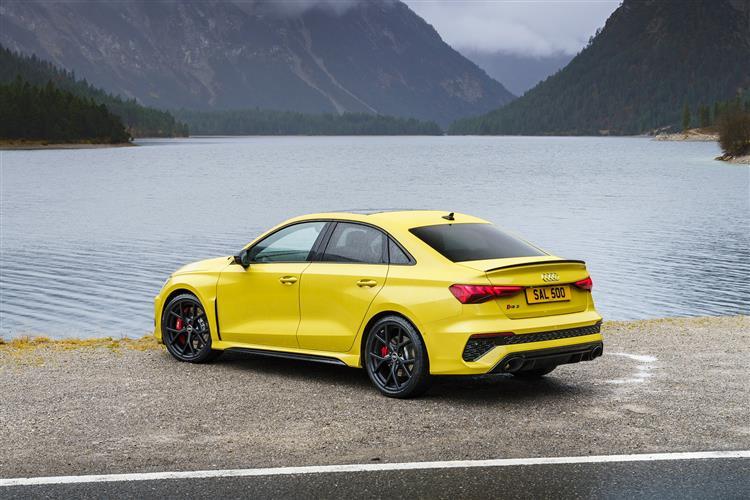 Audi RS3 RS 3 TFSI Quattro 5dr S Tronic [Comfort+Sound] Petrol Hatchback