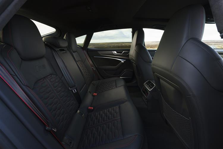 Audi RS 7 TFSI Quattro Carbon Black 5dr Tiptronic [C+S] Petrol Hatchback