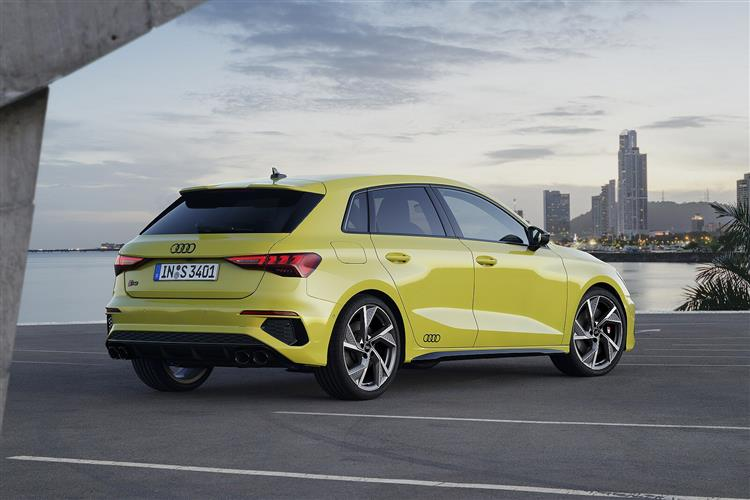 Audi A3 S3 TFSI Quattro 4dr S Tronic [Comfort+Sound] Petrol Saloon