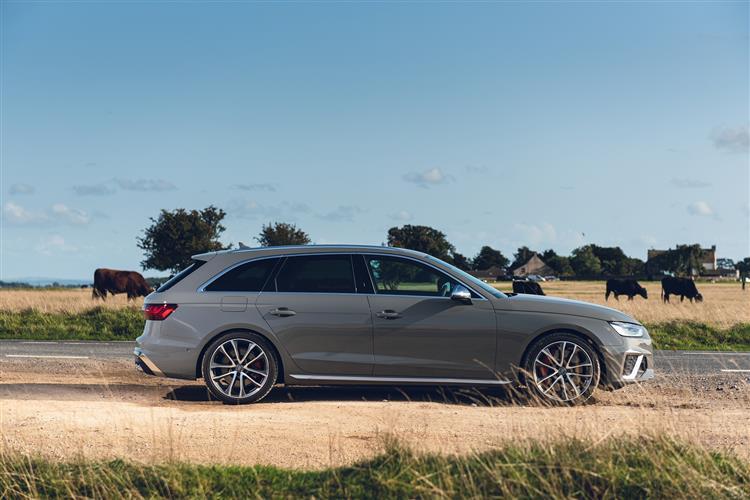 Audi A4 S4 TDI 341 Quattro Black Ed 5dr Tiptronic [C+S] Diesel Estate