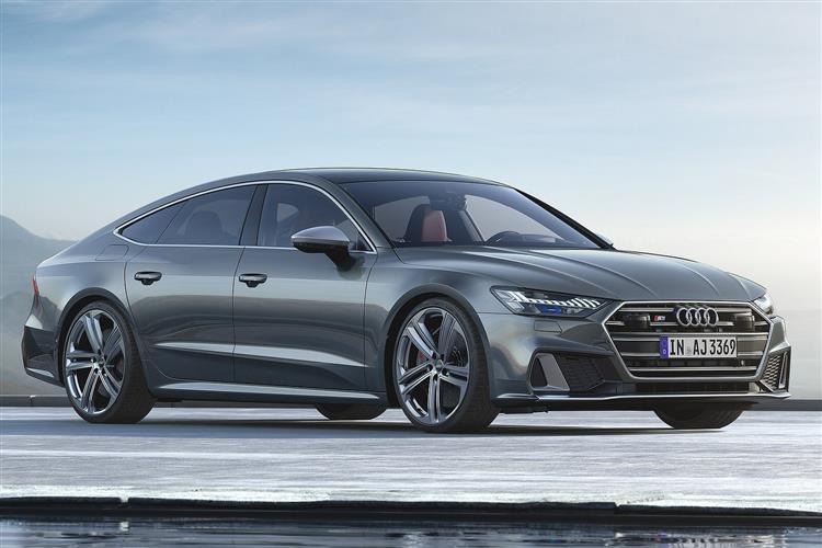 Audi A7 S7 TDI 344 Quattro 5dr Tip Auto [Comfort+Sound] Diesel Hatchback
