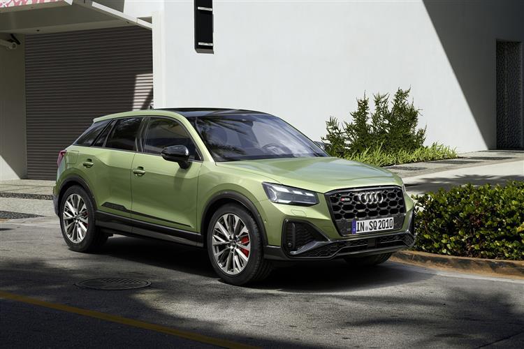 Audi Q2 SQ2 Quattro 5dr S Tronic Petrol Estate