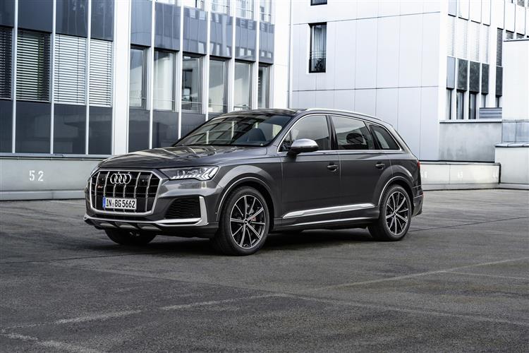 Audi Q7 SQ7 TFSI Quattro Black Edition 5dr Tiptronic Petrol Estate