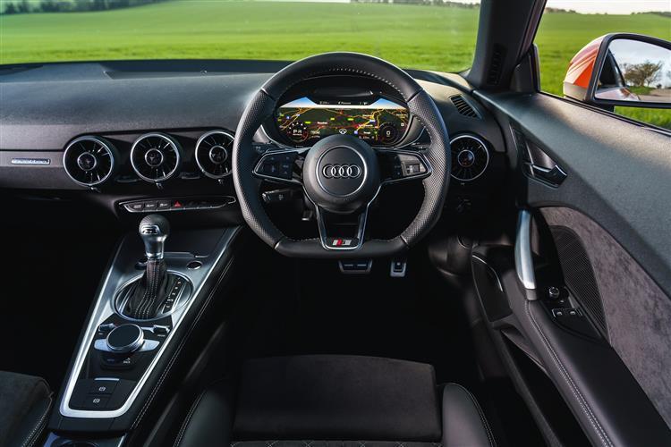 Audi TT 50 TFSI 320 Quattro TTS Black Ed 2dr S Tronic Petrol Coupe