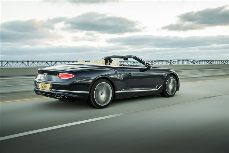 Bentley New Continental GT V8 - Breathtaking performance and elegant design image 3