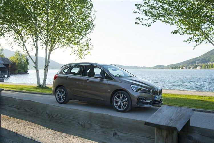 New BMW 2 Series Active Tourer 218d review
