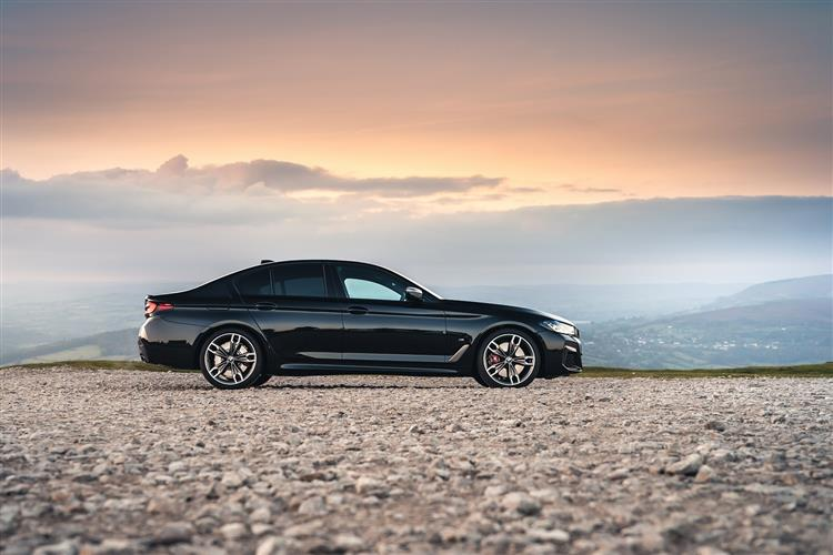 BMW 5 SERIES DIESEL SALOON 520d MHT M Sport 4dr Step Auto