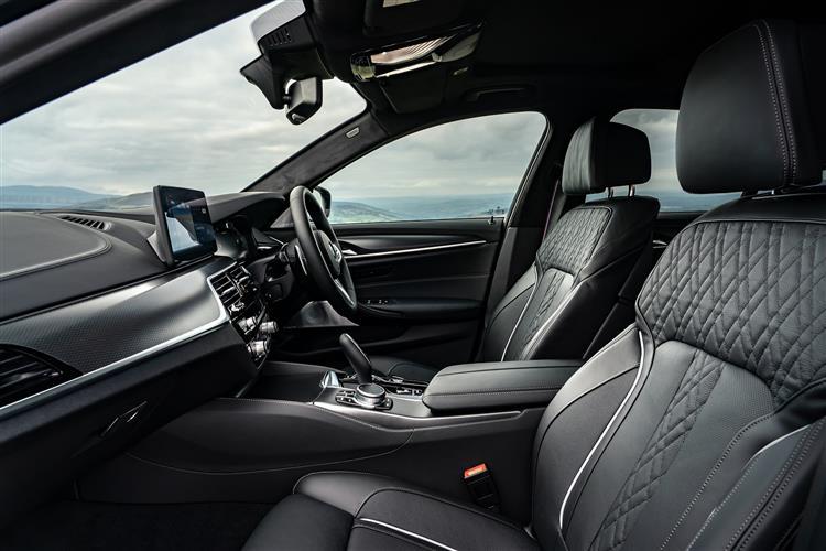 BMW 5 SERIES 520d MHT M Sport 4dr Step Auto [Pro Pack]