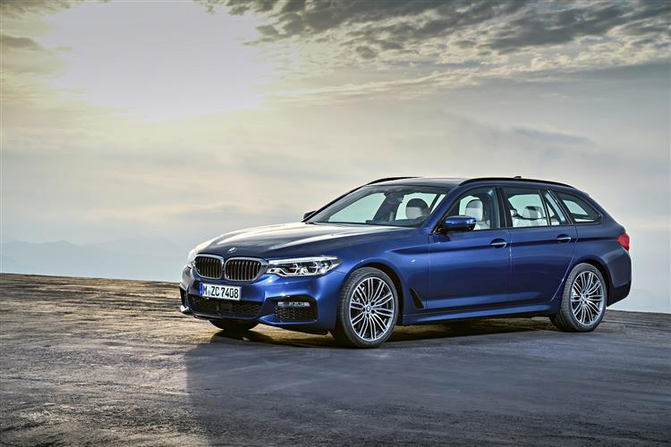 BMW 5 SERIES DIESEL TOURING 530d M Sport 5dr Auto [Tech/Plus Pack]
