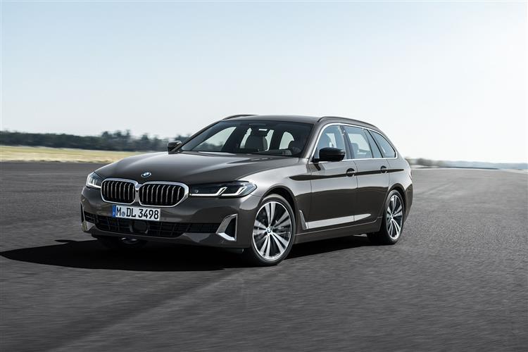 BMW 5 SERIES DIESEL TOURING 520d MHT M Sport 5dr Step Auto [Pro Pack]