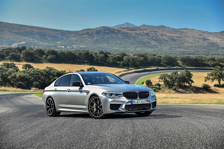 New BMW M5 Competition review