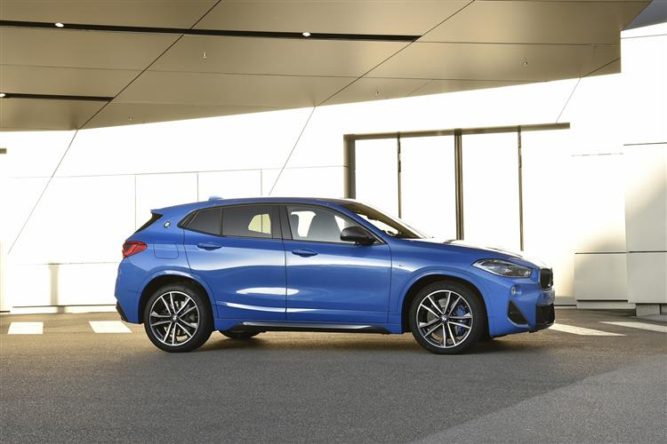 New BMW X2 review