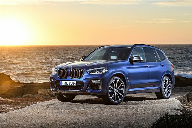 BMW X3 DIESEL ESTATE xDrive30d M Sport 5dr Step Auto [Tech Pack]