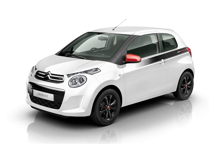 CITROEN C1 1.0 VTi 72 Flair 5dr image 2 thumbnail