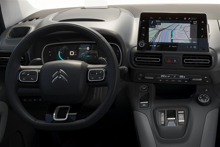 Citroen New e-Berlingo 100kW Feel M 50kWh 5dr Auto image 11