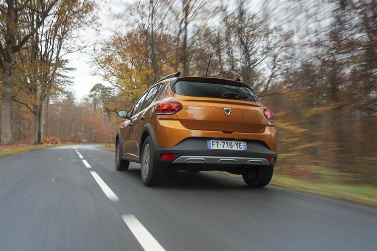 Dacia Sandero Stepway 1.0 TCe Prestige 5dr CVT Petrol Hatchback