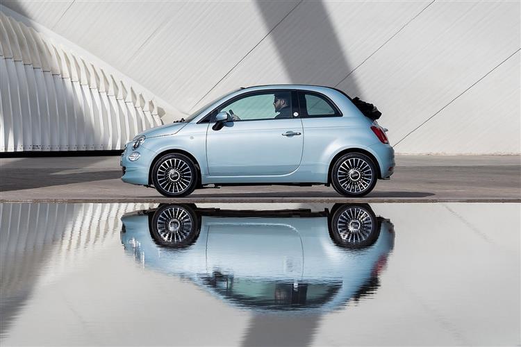 Fiat 500 1.2 LNGE LEASE Offer Depst £139+vat Payment £139+v image 3
