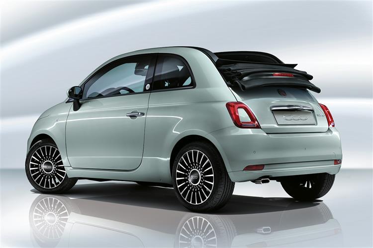 Fiat 500 500C - 1.2 Lounge 2dr image 1