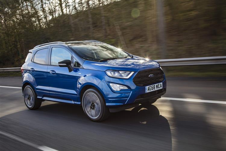 Ford EcoSport 1.0 EcoBoost 125PS Titanium 5dr image 3 thumbnail