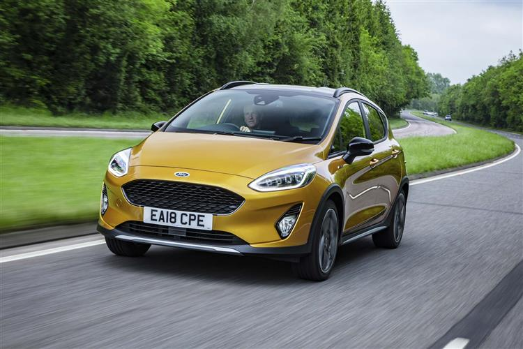 Ford FIESTA 1.0 EcoBoost Hybrid mHEV 125 Active Edition 5dr