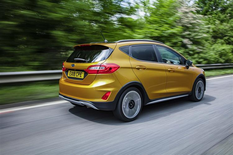 Ford FIESTA 1.0 EcoBoost Hybrid mHEV 125 Active X Edition 5dr