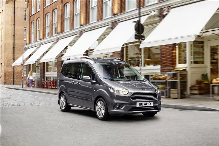 Ford Tourneo Courier 1.0 EcoBoost Zetec 5dr image 2