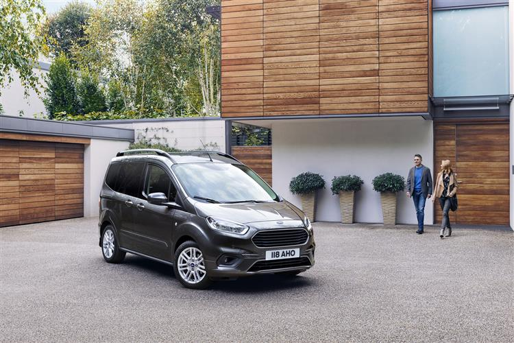 Ford Tourneo Courier 1.0 EcoBoost Zetec 5dr image 7