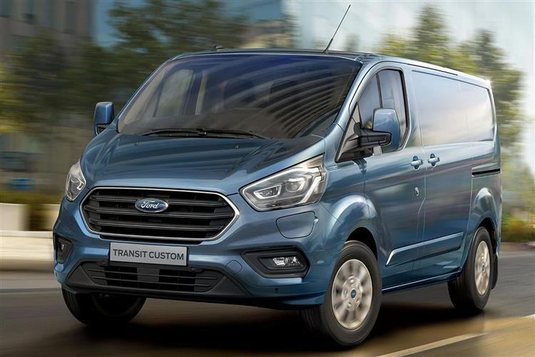 FORD TRANSIT CUSTOM DIESEL ESTATE 2.0 EcoBlue 185 Nugget 4dr