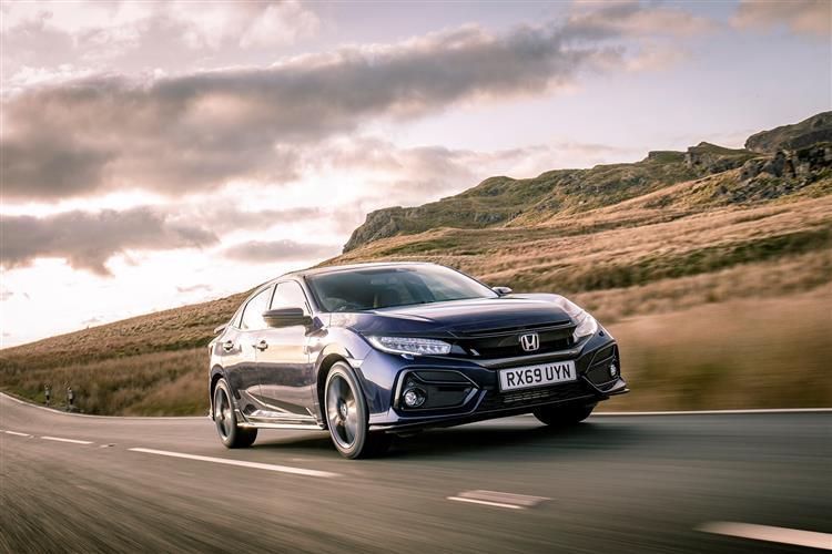 Honda New Civic 1.0 I-VTEC Turbo SE 5dr CVT image 3