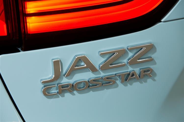 Honda Jazz 1.5 i-MMD Hybrid Crosstar EX 5dr eCVT Hybrid Hatchback