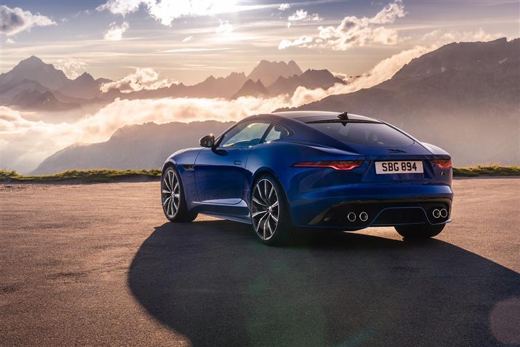 Jaguar F-TYPE Coupe 2.0 P300 R-Dynamic 2dr Auto image 2