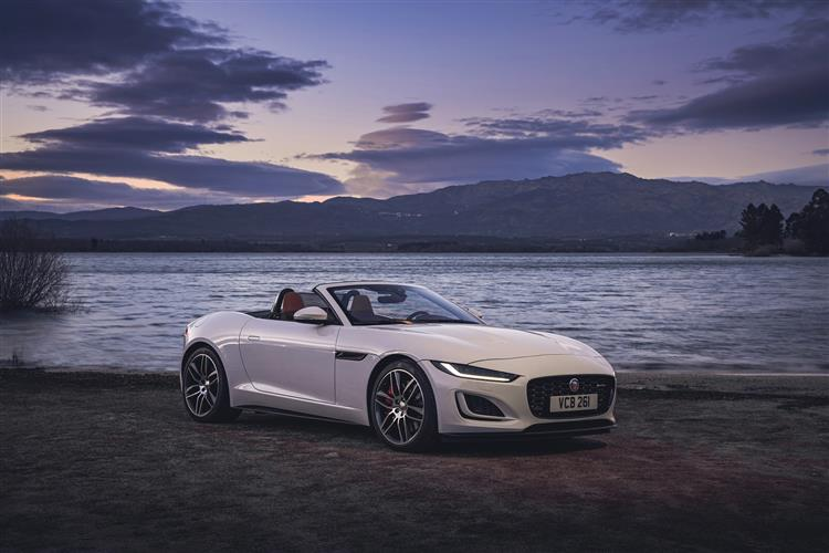 Jaguar F-TYPE CONVERTIBLE 3.0 Supercharged V6 2dr