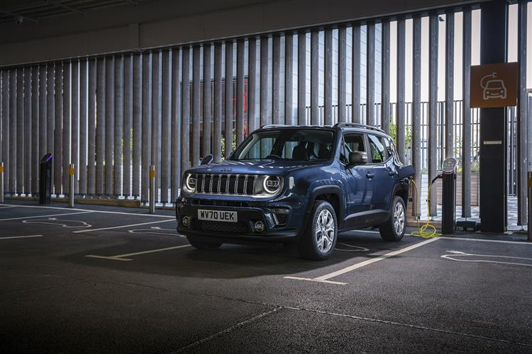 Jeep Renegade 4xe 1.3 Turbo 4xe PHEV 190 Limited 5dr Auto image 3