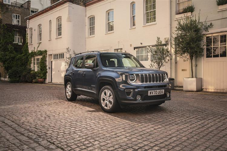 Jeep Renegade 4xe 1.3 Turbo 4xe PHEV 190 Limited 5dr Auto image 8