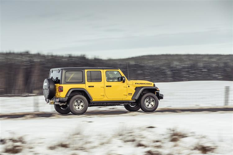 Jeep Wrangler 2.2 Multijet Rubicon 4dr Auto8 image 4