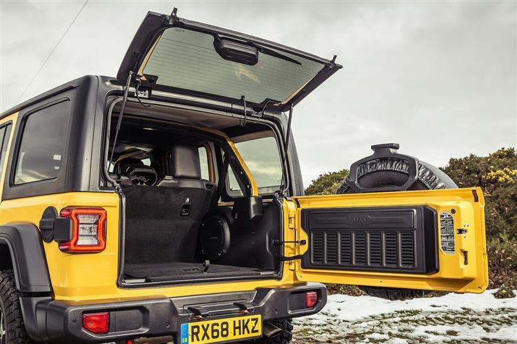Jeep Wrangler 2.2 Multijet Rubicon 4dr Auto8 image 10