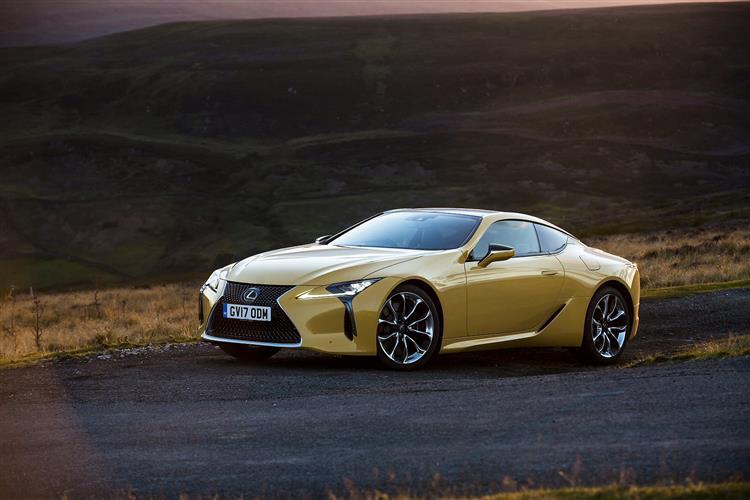New Lexus LC review