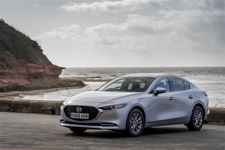 Mazda 3 2.0 e-Skyactiv-X MHEV [186] GT Sport 4dr Auto Petrol Saloon