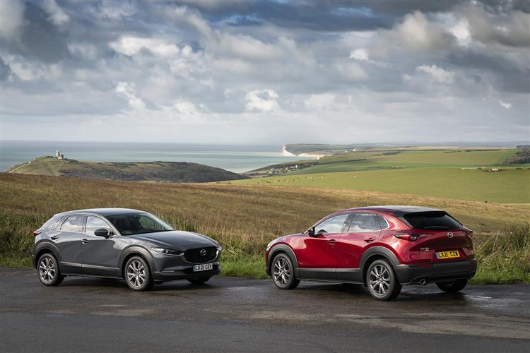 Mazda CX-30 2.0 Skyactiv-G MHEV SE-L Lux Automatic 5 door Hatchback (20MY) at Maidstone Suzuki, Honda and Mazda thumbnail image