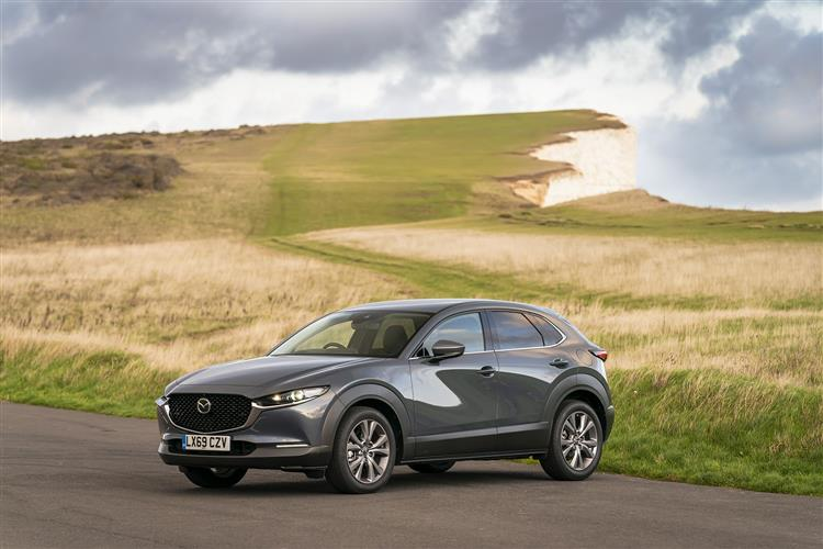 Mazda CX-30 2.0 Skyactiv-X MHEV Sport Lux AWD 5 door Hatchback at Maidstone Suzuki, Honda and Mazda thumbnail image