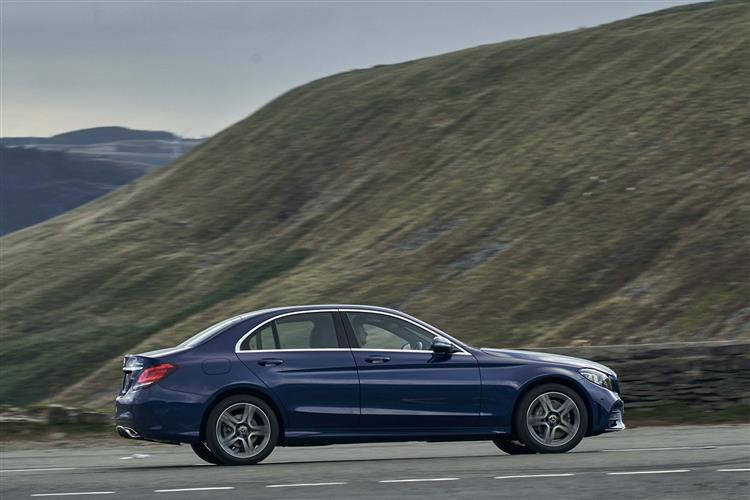 Mercedes Benz C CLASS C220d AMG Line Edition Premium 4dr 9G-Tronic