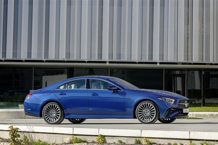 CLS DIESEL COUPE Image