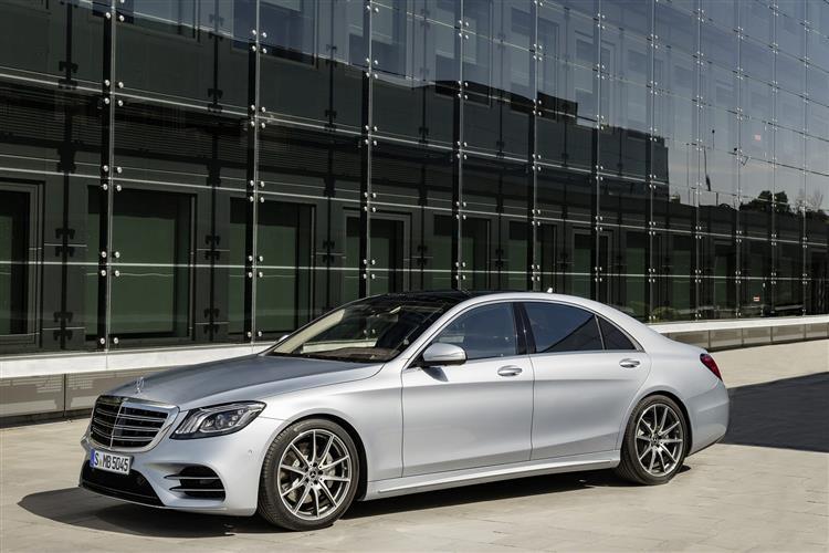 Mercedes-Benz S CLASS AMG SALOON S63L Premium 4dr MCT